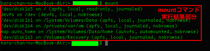 linux-mount-command-result