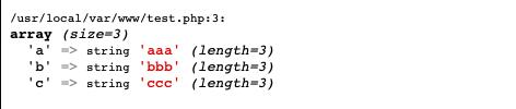 array-with-xdebug