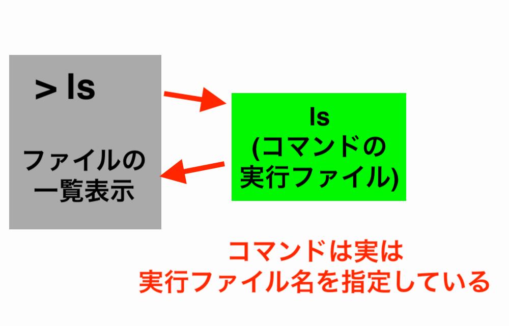 コマンド実行の概念図